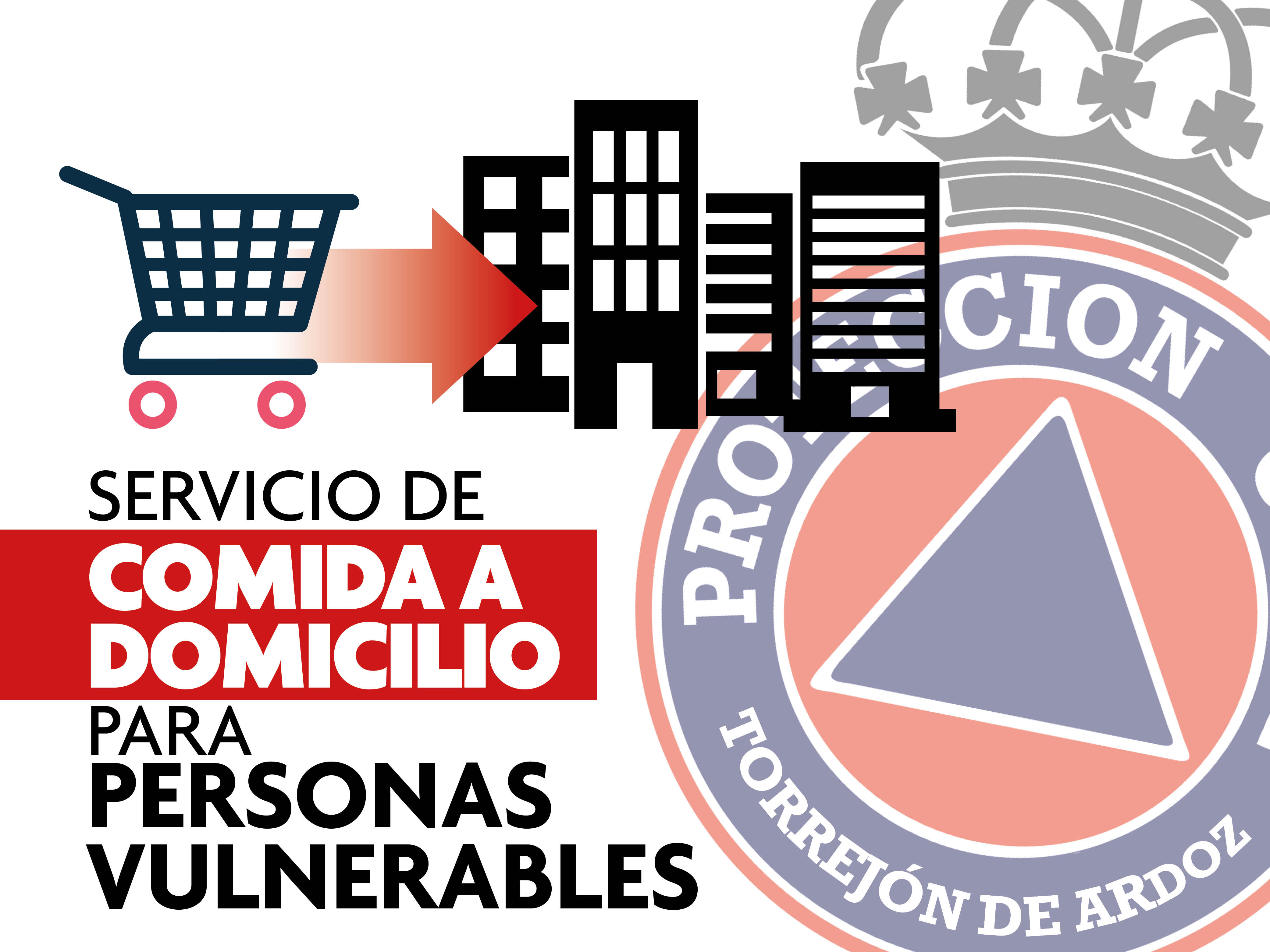 Protección Civil de Torrejón de Ardoz pone en marcha un servicio de compra a domicilio de alimentos básicos y medicinas para las personas vulnerables ante el confinamiento por el coronavirus