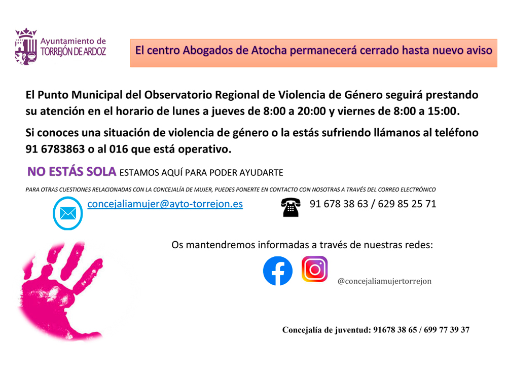 Punto Municipal de Violencia de Género