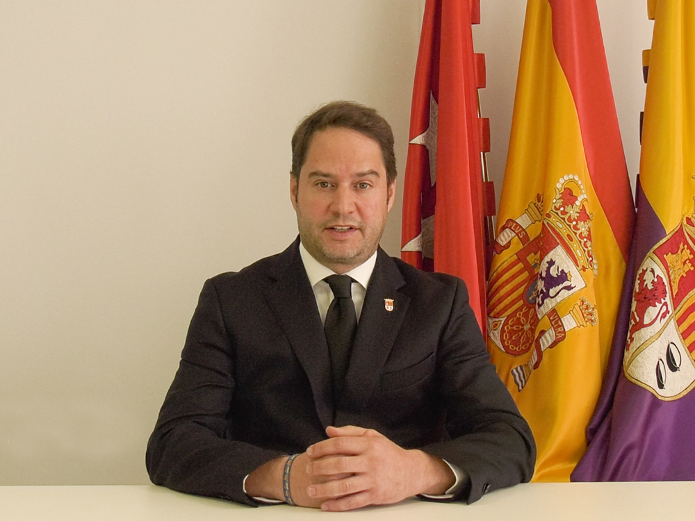 Ignacio Vázquez, alcalde de Torrejón de Ardoz