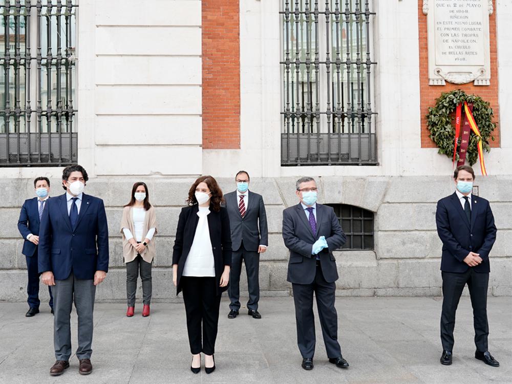El alcalde de Torrejón de Ardoz, como vicepresidente de la Federación de Municipios de Madrid, se reúne con la presidenta regional para abordar la situación del coronavirus en los municipios de la región