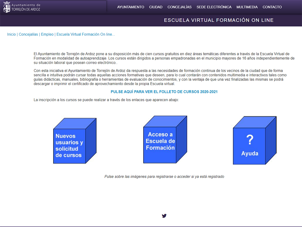 Séptima edición de la Escuela Virtual de Formación